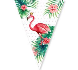 Parti - Flamingo Bayrak Afiş