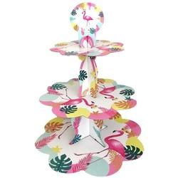 Parti - Flamingo Cupcake Standı