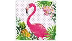 Parti Dünyası - Flamingo Peçete 33x33 cm 16 Adet