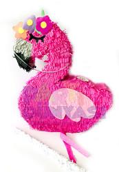 Parti Dünyası - Flamingo Şekilli Pinyata ve Sopası