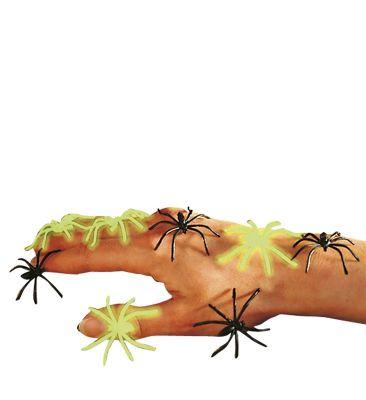 Fosforlu Örümcekler 6 Adet