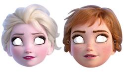 Parti Dünyası - Frozen Tam Yüz Maske 6 Adet