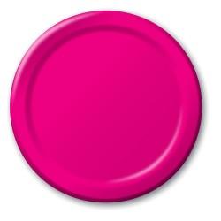 Parti Dünyası - Fuşya Renk 8 li Karton Tabak