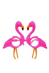 Parti - Fuşya Flamingo Parti Gözlüğü