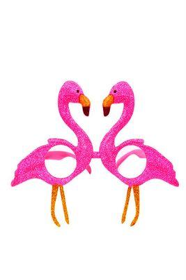 Fuşya Flamingo Parti Gözlüğü