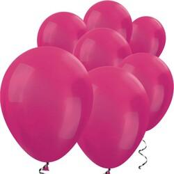Parti Dünyası - Fuşya METALİK 10 Adet Balon