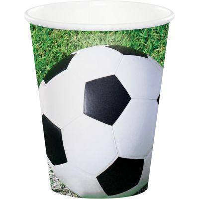Futbol Topu 8 li Bardak