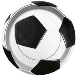 Parti Dünyası - Futbol Partisi Tabak 8 adet