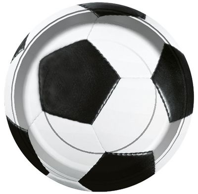 Futbol Partisi Tabak 8 adet
