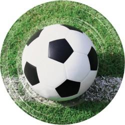 Parti Dünyası - Futbol Topu 8 li Tabak