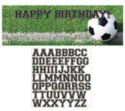 Parti Dünyası - Futbol Topu İsim Yazılabilen Dev Afiş