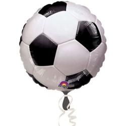 Parti Dünyası - Futbol Topu Supershape Folyo Balon 45 cm