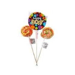 Parti Dünyası - Işıltılı Balonlar Partisi 10 Adet Lolipop