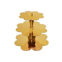 - Gold Cupcake Standı