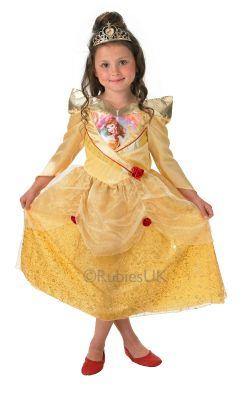 Parti - Golden Belle Pırıltılı Kostümü