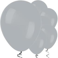 Parti Dünyası - Gri Renk 100 Lü Latex Balon