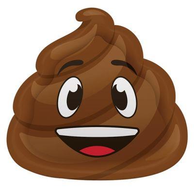 - Gülen Kaka Emojiler Şekilli Tabak 8 Adet