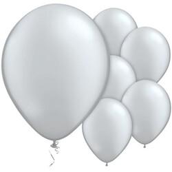 Parti Dünyası - Gümüş Metalik Balon 10 Adet