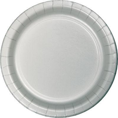 Gümüş Renk Tabak 8 Adet