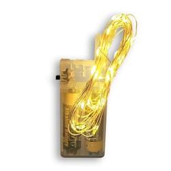 Parti Dünyası - Gün Işığı Led Işık Damla Pilli 3 metre