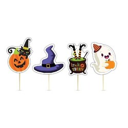 Parti Dünyası - Halloween 8 Li Eva Kürdan