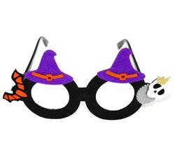 Parti Dünyası - Halloween Cadı Şapkalı Gözlük
