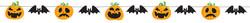 Parti - Halloween Balkabağı Özel Kesim Afiş 250 cm
