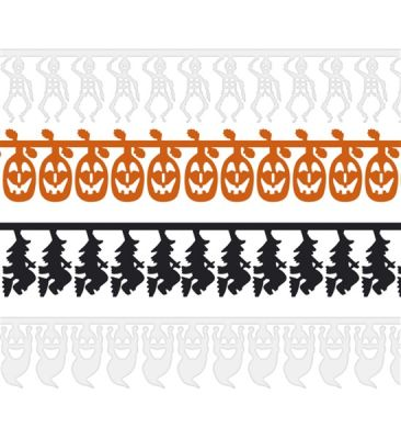Halloween Karakterleri Garlent Süs 1 Adet