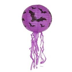 Parti Dünyası - Halloween Mor Fener Püsküllü