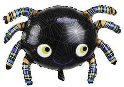 Parti Dünyası - Halloween Örümcek Folyo Balon 90 x 54 cm
