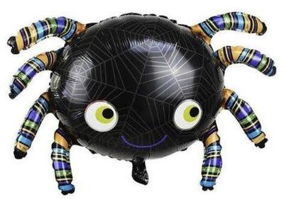 Halloween Örümcek Folyo Balon 90 x 54 cm
