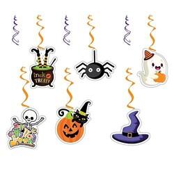 Parti Dünyası - Halloween Partisi 6 Lı Tavan Süsü