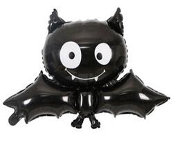 Parti Dünyası - Halloween Yarasa Folyo Balon 93 x 65 cm