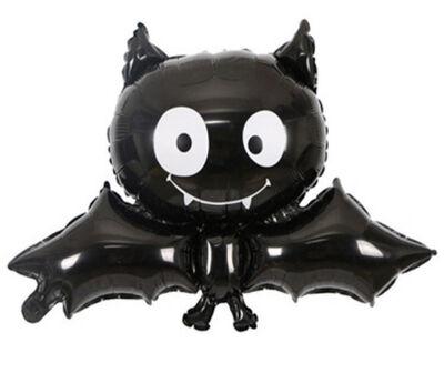 Halloween Yarasa Folyo Balon 93 x 65 cm