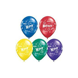Parti Dünyası - Happy Birthday 10 lu balon