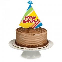 Parti Dünyası - Happy Birthday Pasta Süsü