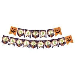 Parti Dünyası - Happy Halloween Harf Afiş