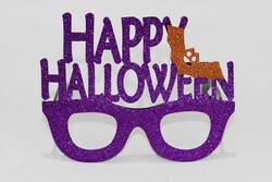 Parti Dünyası - Happy Halloween Mor Gözlük