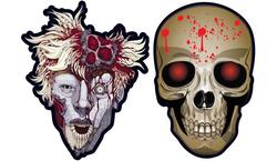 Parti Dünyası - Kanlı Kafatası 6 lı Maske