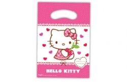 Parti Dünyası - Hello Kitty 6 lı Hediye Poşeti
