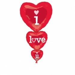- I Love You Folyo Balon