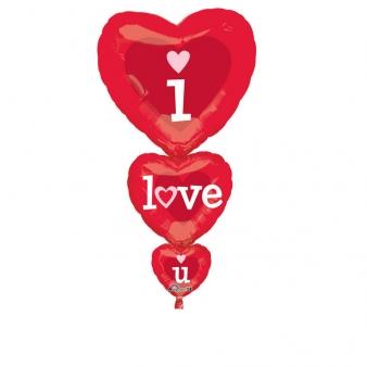 I Love You Folyo Balon