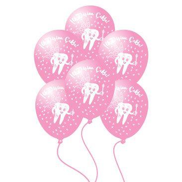 İlk Dişim Çıktı Kız 10 lu Balon