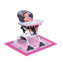 Parti Dünyası - İlk Yaş Günüm Kız Mama Sandalyesi Süsleme Kiti