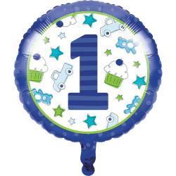 Parti Dünyası - İlk Yaş Partim Erkek Folyo Balon