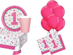 Parti Dünyası - İlk Yaş Partim Kız 16 Lı Parti Seti