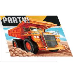 Parti Dünyası - İnşaat Partisi Davetiye 8 Adet