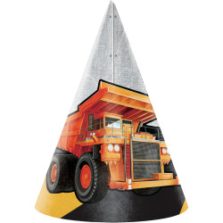 Parti - İnşaat Partisi Şapka 8 Adet