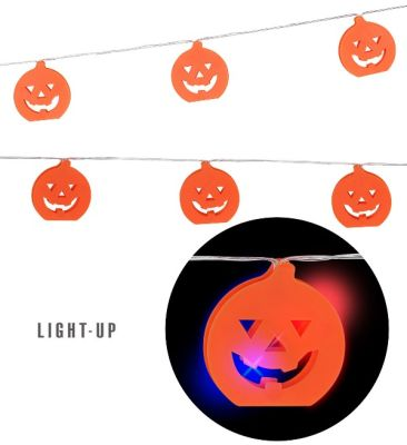 Renk Değiştiren Balkabaklı Işıklar dekor 2,5 Metre
