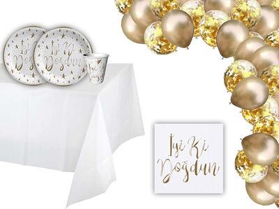 İyi Ki Doğdun Gold Parti Seti 12 Kişilik